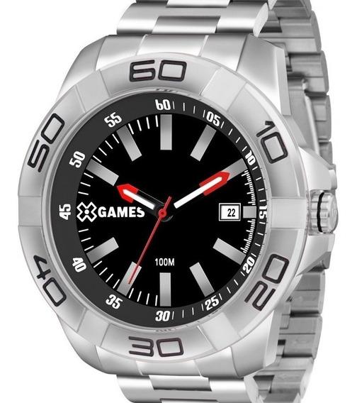 Relógio X-games Masculino Xmss1037 Pbsx Aço Analogico