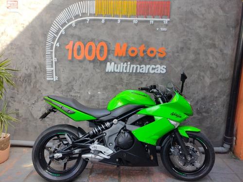 Imagem 1 de 10 de Kawasaki Ninja 650 R 2011