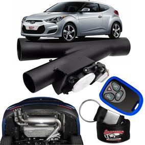 Difusor De Escapamento Esportivo Preto - Hyundai Veloster