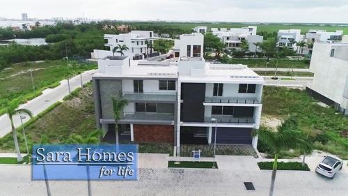 Imagen 1 de 22 de Venta Casa En Puerto Cancún Frente Al Mar