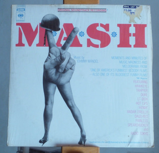 M.a.s.h. Original Soundtrack Lp Usa Impecable
