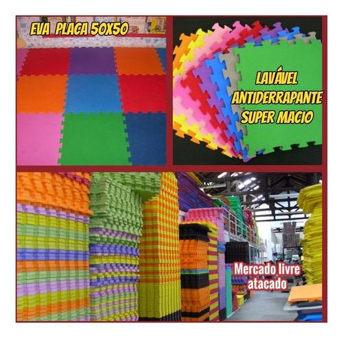 Imagem 1 de 10 de E.v.a Tatame P/forrar Chão Kit C/14 Placas Loja De Fabrica