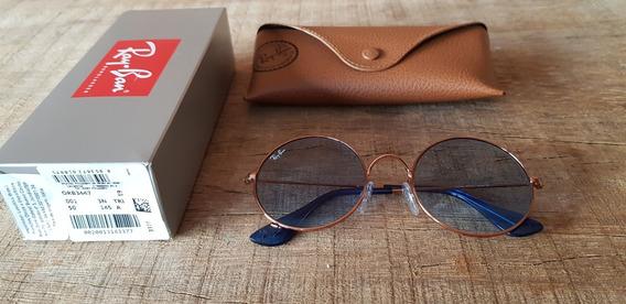 Óculos Ray Ban Ja-jo Rb3592 Azul Transparente Black Friday