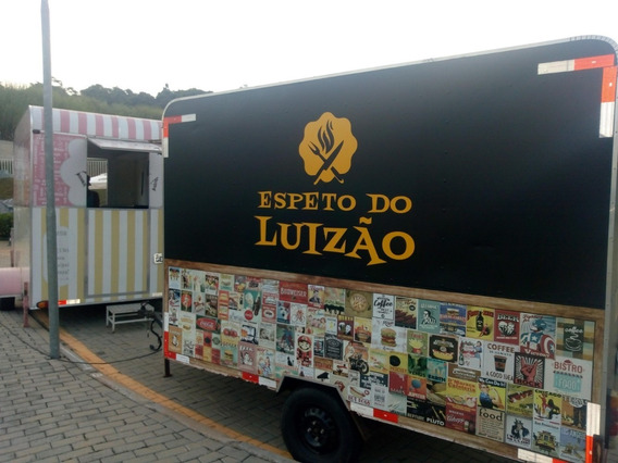 Trailler Food Truck Para Espetinho Medindo 3x2