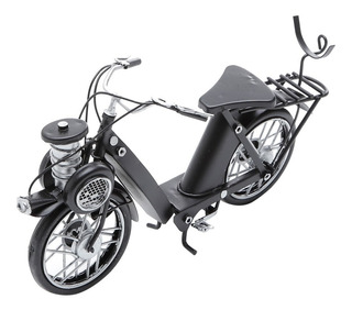 Moto Mobilet Enfeite Decorativo Vintage Ferro 30036