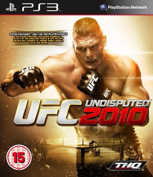 Jogo Ufc 2010 Undisputed Playstation 3 Ps3 Pronta Entrega