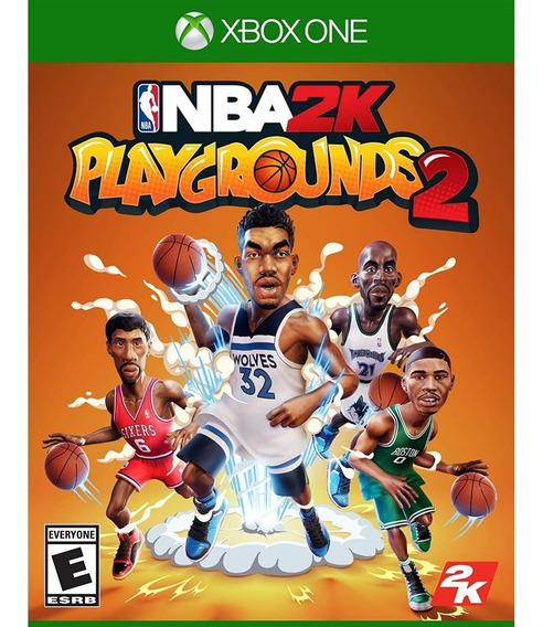 Nba 2k Playgrounds 2 Xbox One Mídia Física Novo Lacrado