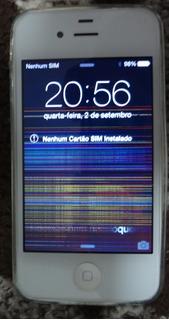 iPhone 4 - 8g Com Defeito (leia A Descrição)