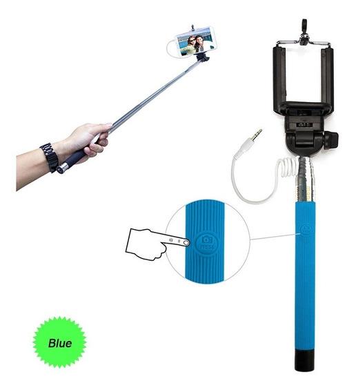Monopod Selfie Fotografia, Azul (blue) iPhone & Android