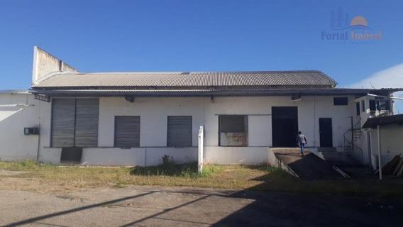 Galpão Para Alugar, 2700 M² Por R$ 25.000,00/mês - Messejana - Fortaleza/ce - Ga0076