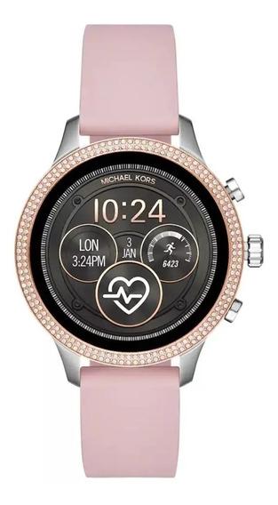 Reloj Smartwatch Mk Michael Kors Rosa Mod Mkt5055 Original
