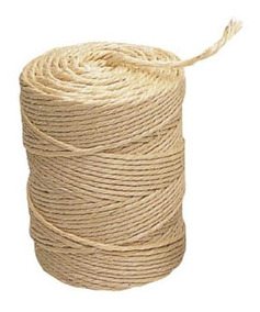 Fio Sisal 200 1 Mm Natural 200 M Rolo Amarra Uso Geral