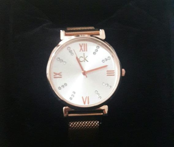 Relógio De Imã Feminino Ck Muito Bonito E Barato