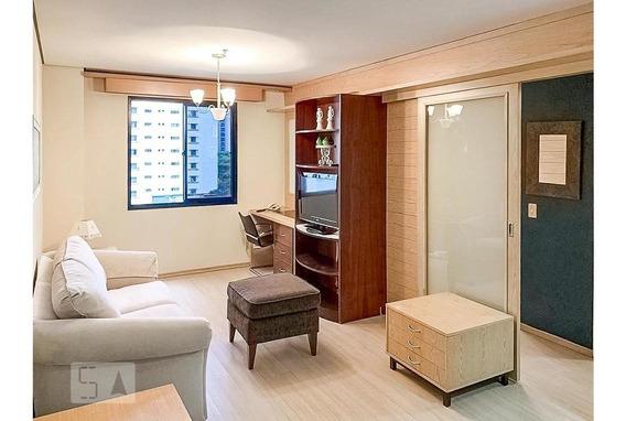 Apartamento Para Aluguel - Moema, 1 Quarto, 37 - 893069594