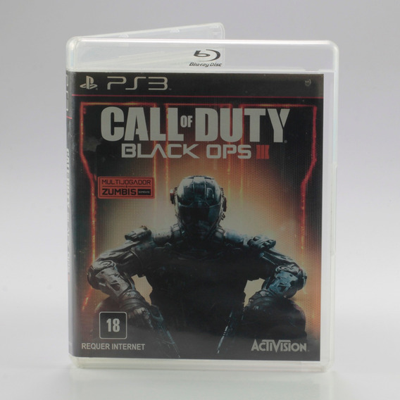 Call Of Duty Black Ops Iii Ps3 - Playstation 3 Mídia Física