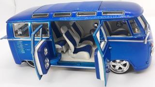 Maisto Kombi - Volkswagen Van Samba 1:25 Única (sem Caixa)