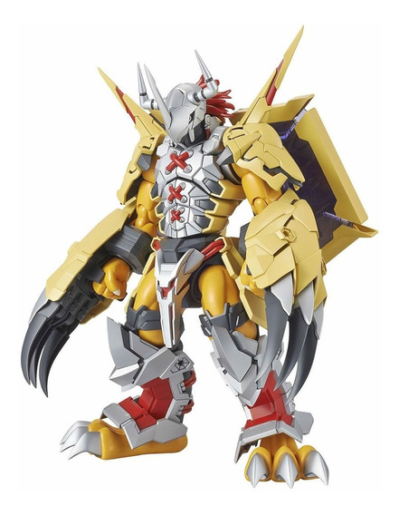 Boneco Wargreymon Amplified Digimon Bandai Figure-rise Kit