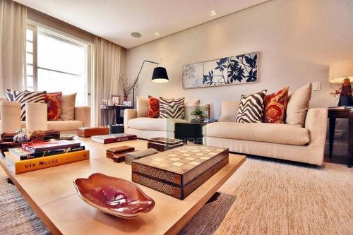 Apartamento Com 2 Dormitórios Para Alugar, 258 M² Por R$ 47.000/mês - Jardim Europa - São Paulo/sp - Ap5499
