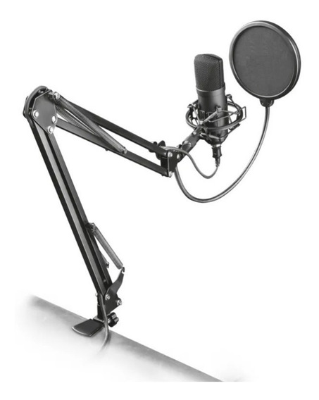 Braço Suporte Pedestal De Mesa Articulado Para Microfones