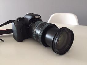 Canon T3i - Lentes 18 A 135 Mm - Duas Baterias - Acessórios