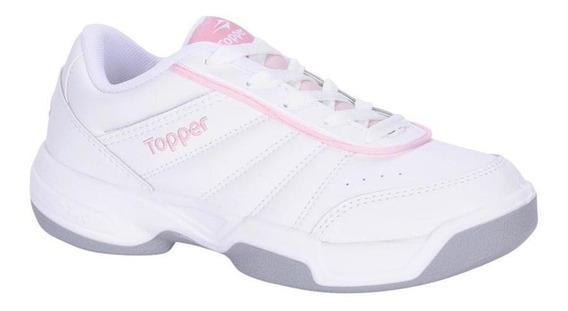 Topper Zapatillas Mujer - Lady Tie Break Iii Blanco