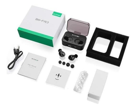 Fone Ouvido Bluetooth Tws 5.0 Sem Fio Blitzwol -bw-fye3
