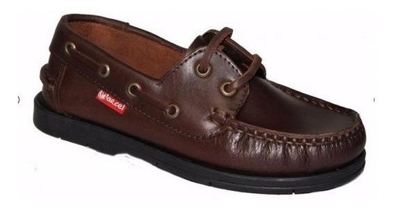 Zapatos Colegiales Escolares Cuero Cordones Marcel 29 Al 41