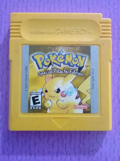Pokémon Special Pikachu Edition Para Game Boy