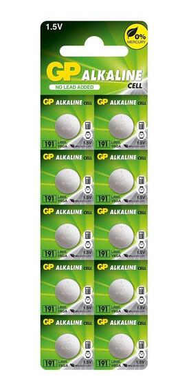 10 Pilhas Baterias Lr1120 Gp - 1 Cartela C/10 Un