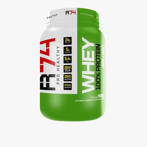 Whey 100% Pro Health R74 900g (concentrado + Isolado)