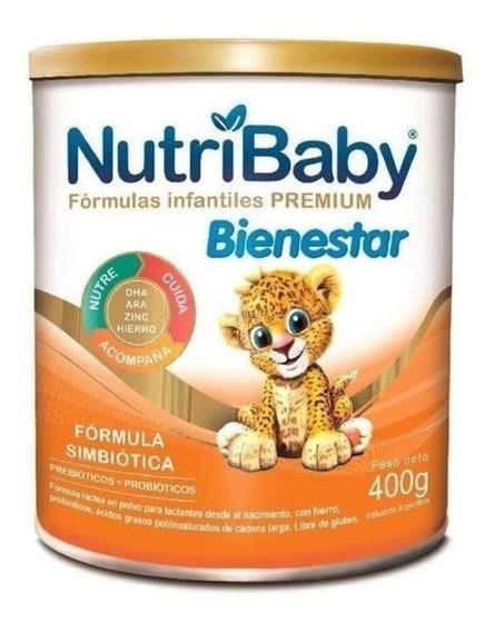 Leche de fórmula en polvo Ethical Pharma NutriBaby Bienestar en lata de 400g