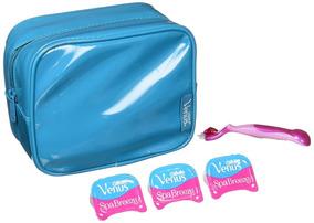 Set Regalo Afeitadora Gillette Venus + 3 Cartuchos + Estuche