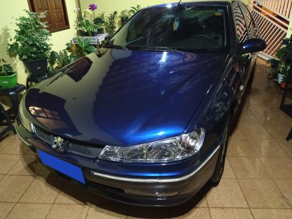 Peugeot 406 2000/2001 Azul Automático