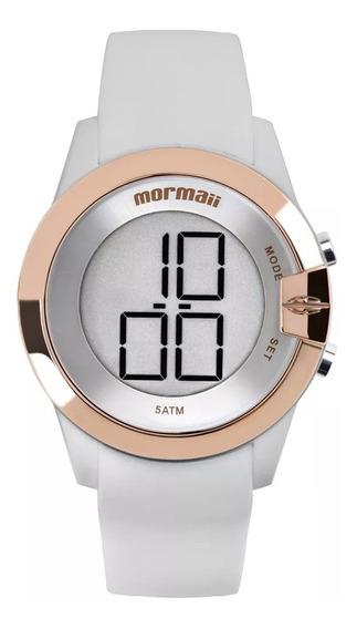 Relógio Mormaii Feminino Silicone Mo13001b/8k