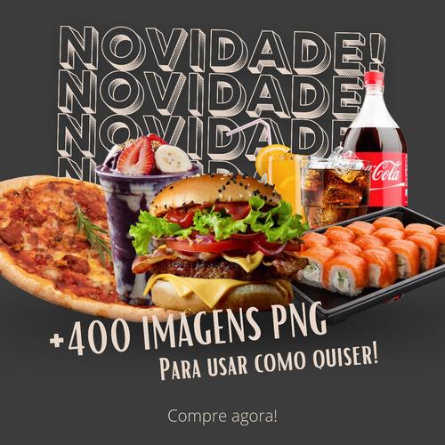 Imagem 1 de 1 de Pack +400 Imagens Png Para Restaurantes Fast Food Sem Fundo