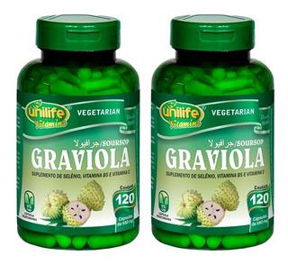 Graviola - 2x 120 Cápsulas - Unilife