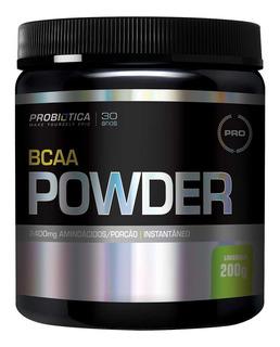 Bcaa Powder Aminoácido Instantâneo - 200g Probiótica