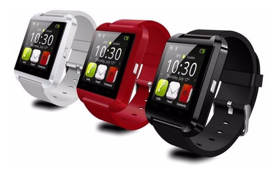 Smartwatch U8 Reloj Inteligente Android-ios Bluetooth Y Mas