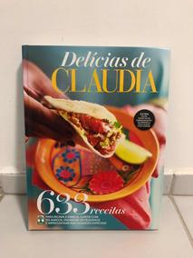 Livro Delícias Da Revista Claudia - 633 Receitas
