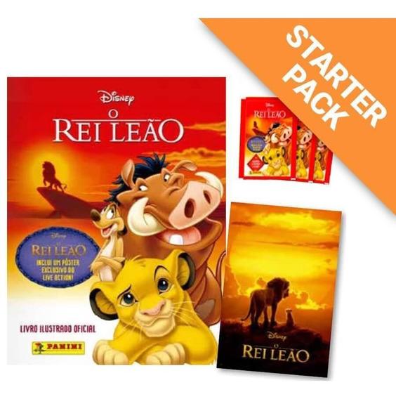 Starter Pack Rei Leão Clássico