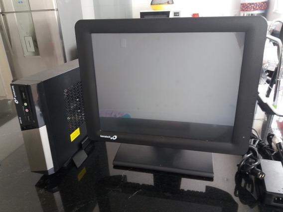 Computador Rc 8300 + Tela Touchscreen Lcd 15 Bematech Usado