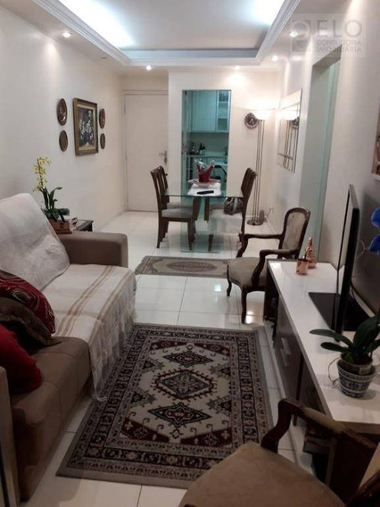 Ap. Com 2 Dormitórios Para Alugar, 90 M² Por R$ 2.500/mês - Ponta Da Praia - Santos/sp - Ap2172