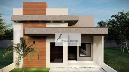 Casa Com 3 Dormitórios À Venda, 131 M² Por R$ 480.000,00 - Terras De São Francisco - Sorocaba/sp - Ca2062