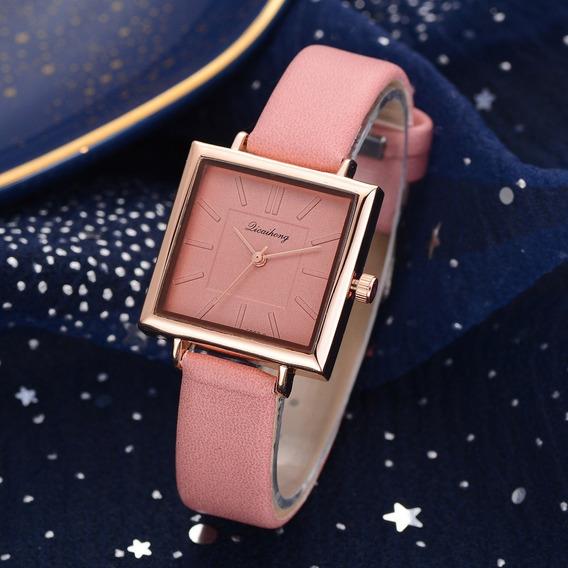 Reloj Dama Mujer Diseño Elegante Diferentes Colores.