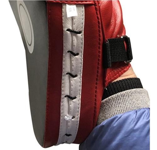 Cloverclover Almohadillas de Objetivo de pu/ño de Mano Flexible Sanda Taekwondo Foot Muay Thai MMA Boxing Pad