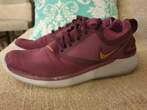 Zapatillas Nike Color Bordo 36