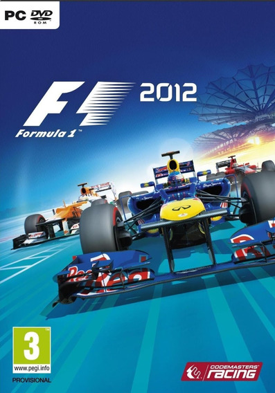 F1 2012 Pc - Steam Key (envio Flash)