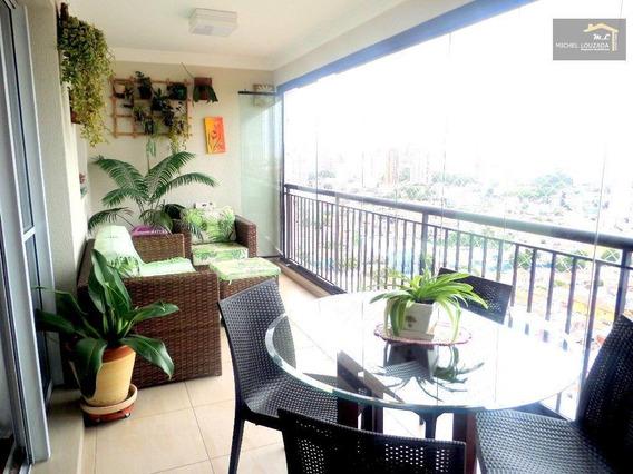 Apartamento À Venda, 120 M² Por R$ 990.000,00 - Vila Prudente - São Paulo/sp - Ap0260
