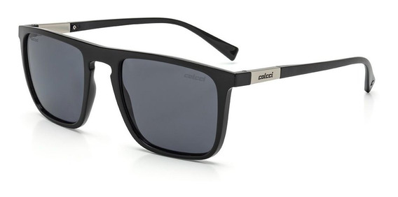Oculos Sol Colcci Martin C0130a0203 Preto Brilho Polarizado