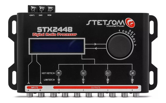 Crossover Stetsom Stx-2448 Equalizador Processador De Audio